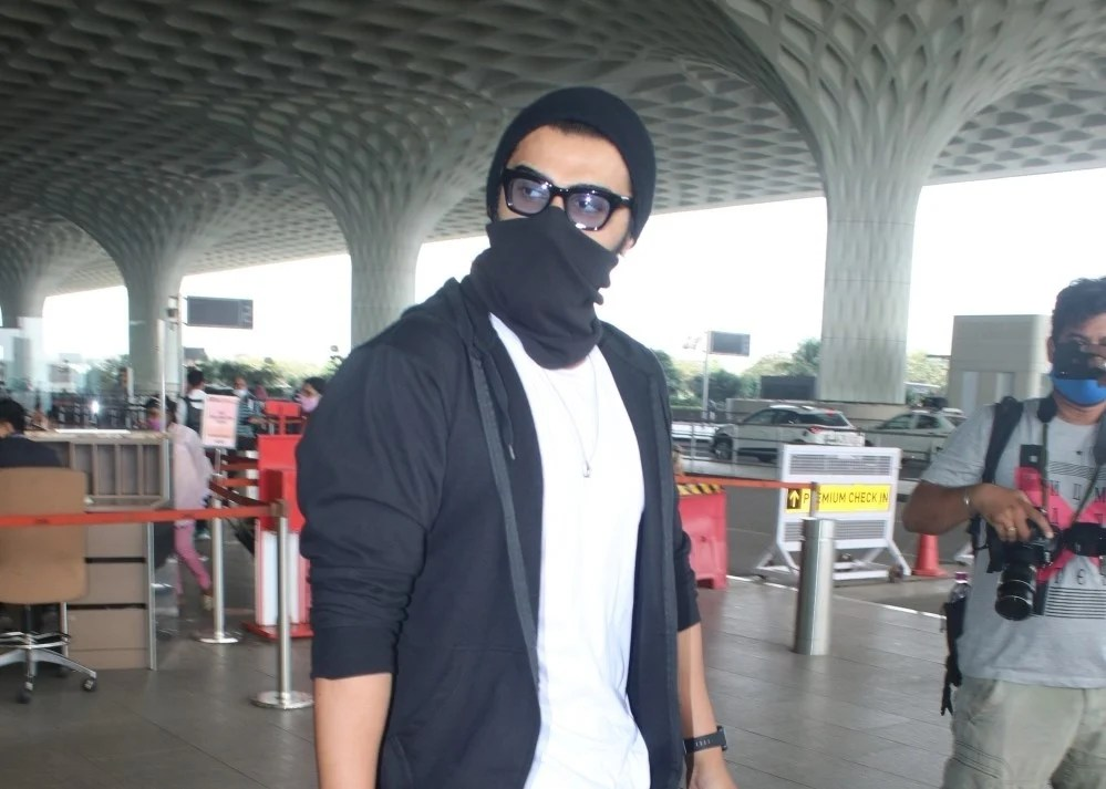 Arjun Kapoor spotted at airport departure