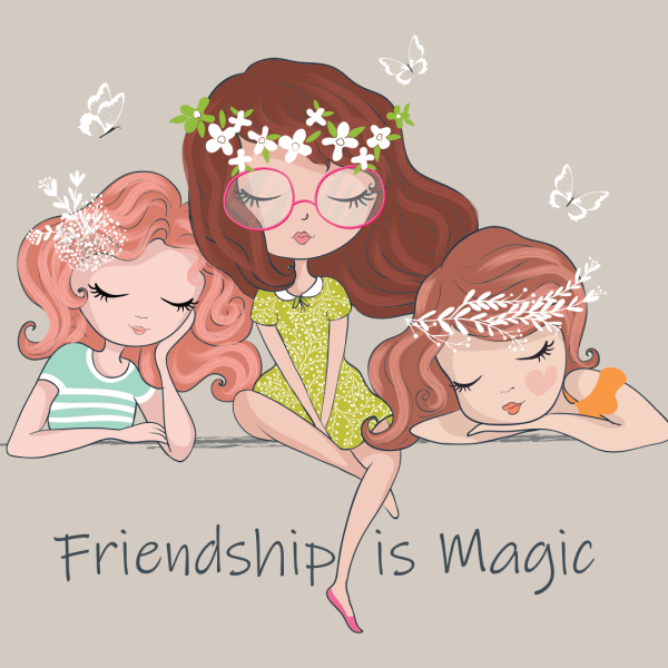 Friendship Is Magic, Friends Sitting Together