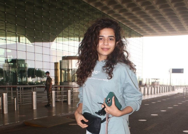 Mithila Palkar Spotted At Airport Departure