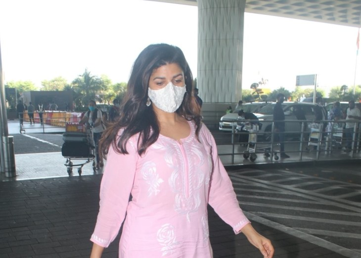 Nimrat Kaur Spotted at Airport Departure