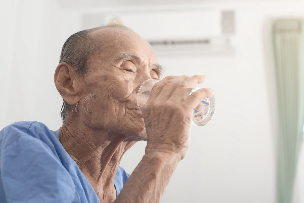 Dehydration In The Elderly
