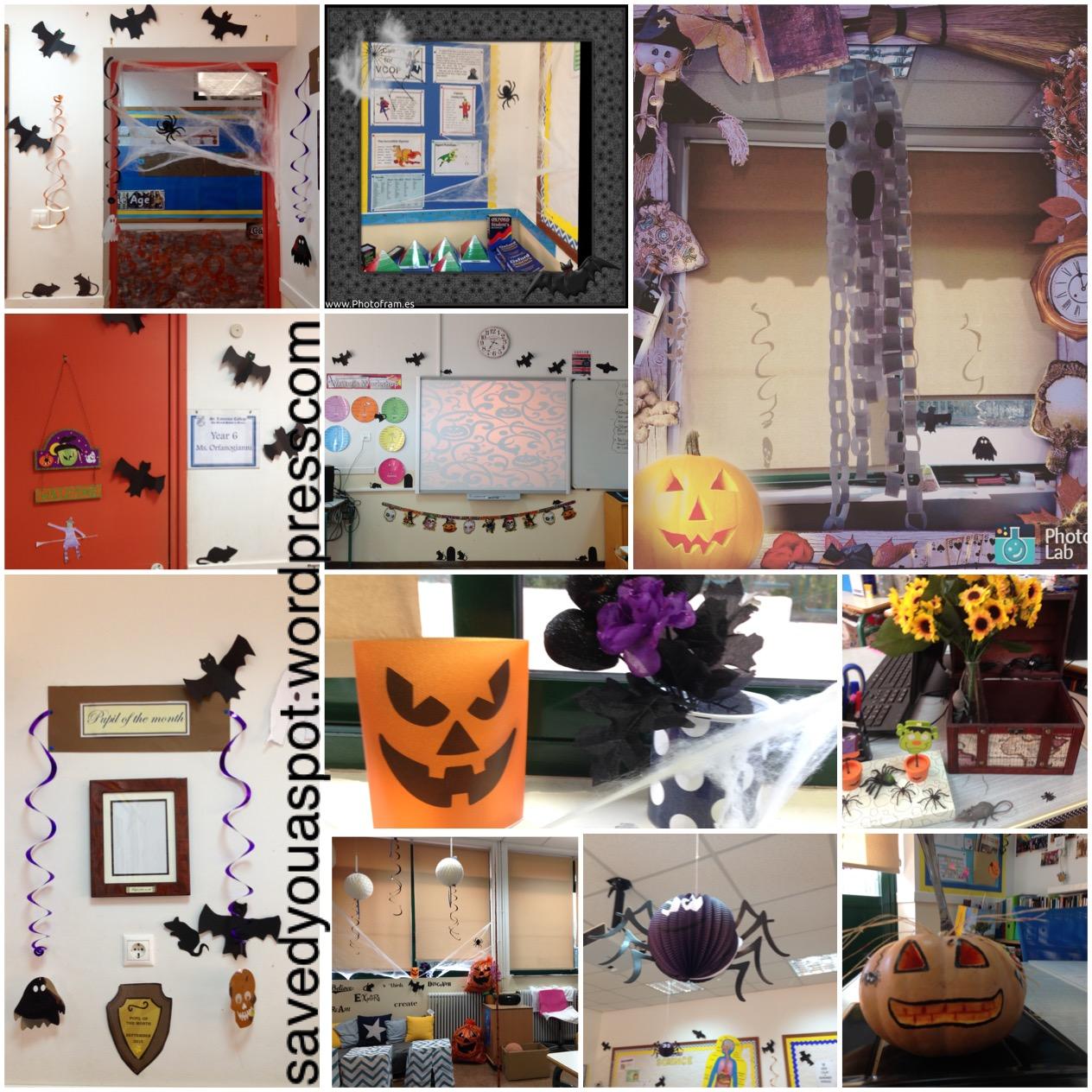 Halloween Classroom Decor Saved You A Spot