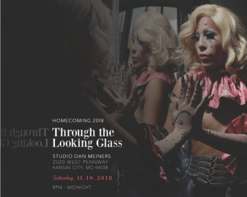 Through the Looking Glass photo + logo