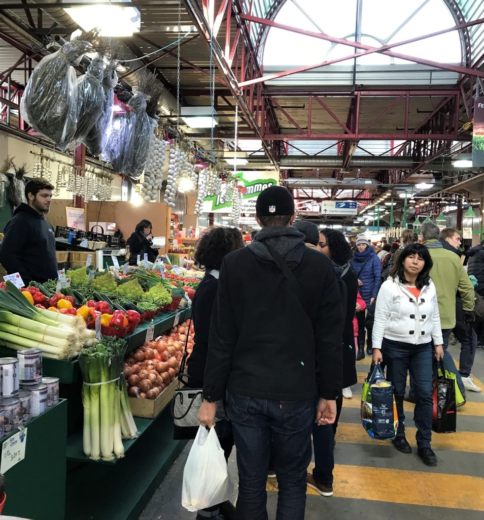 Jean Talon market in Montreal