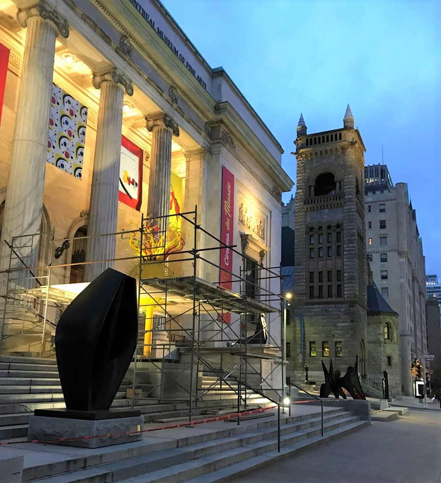 Museum of Fine Arts in Montreal