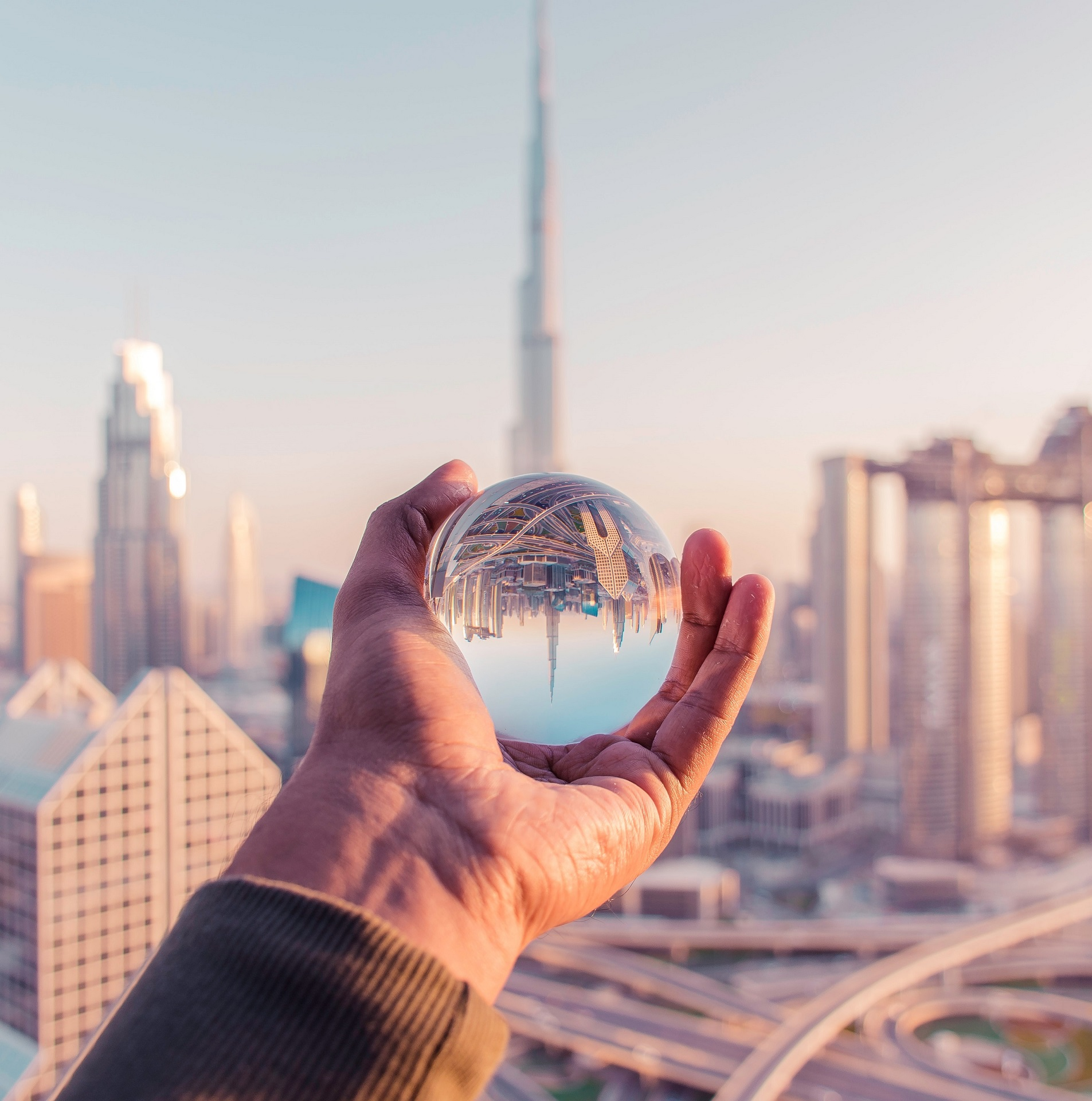 person holding glass ball -investment options