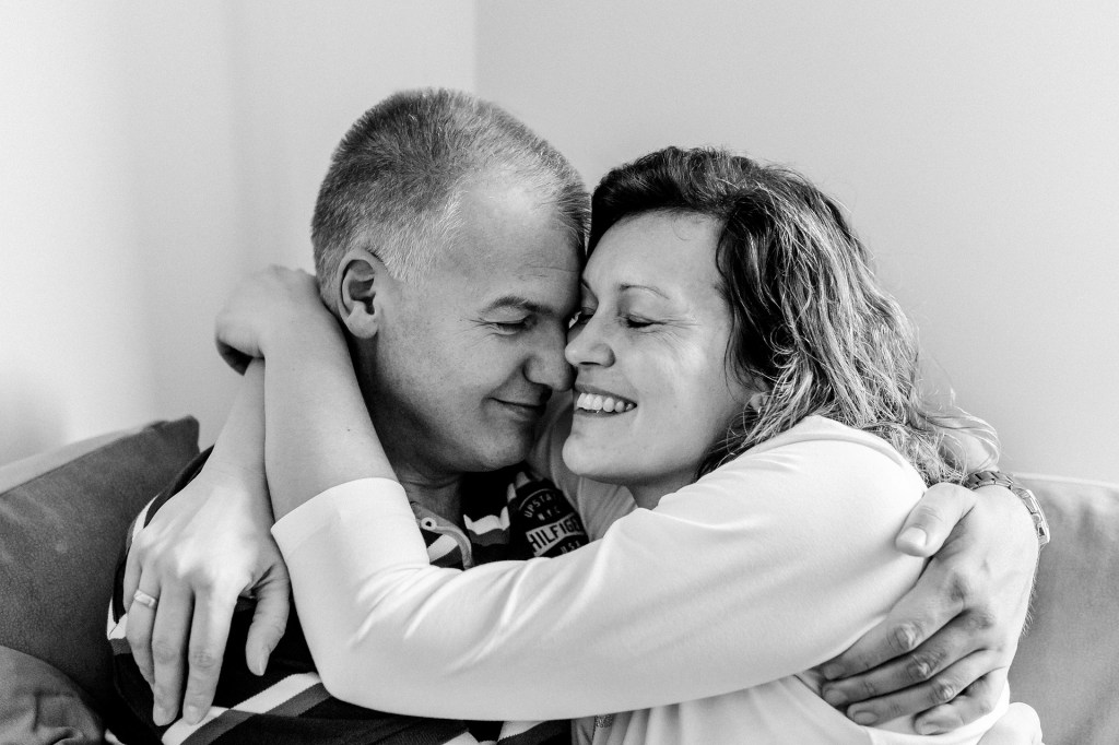 middle age couple - financially ready to retire