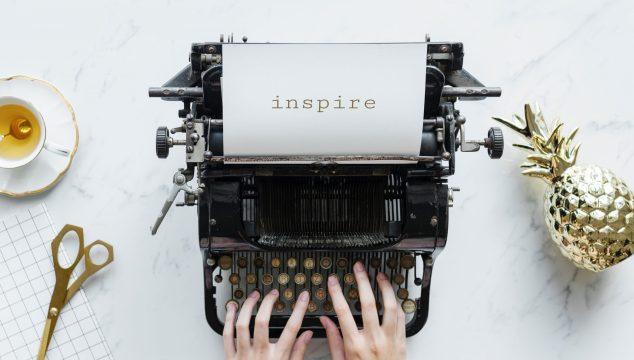 type writer - coffee- create retirement lifestyle goals