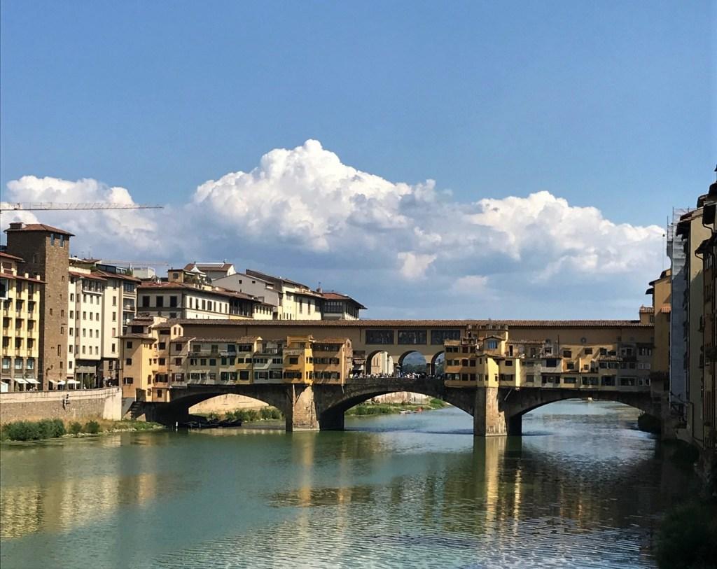 Iconic Ponte Vecchio Bridge