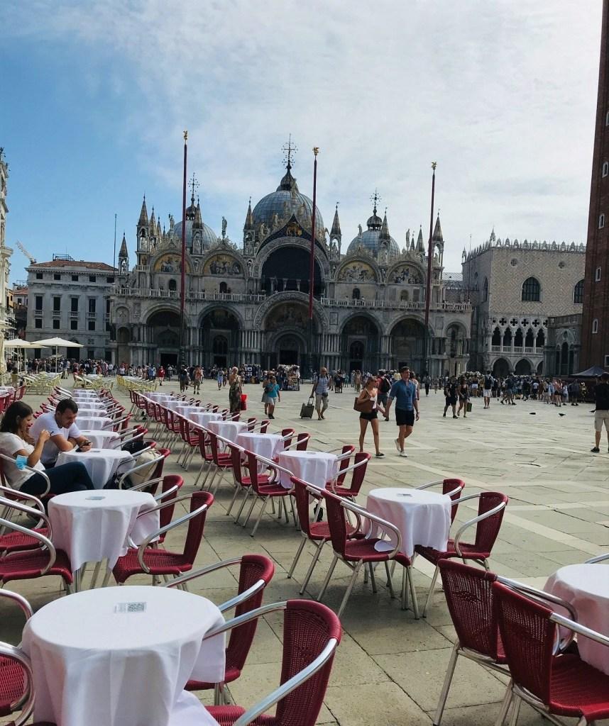 St. Mark's Piazza in Venice, Italy