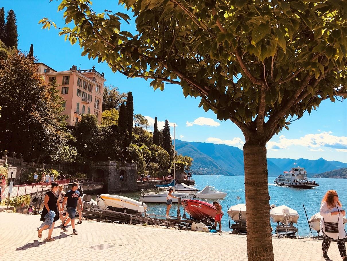 Varenna - Lake promenade - best cities on lake Como