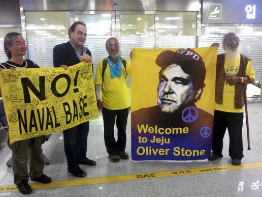 Day 5, Oliver Stone arrives