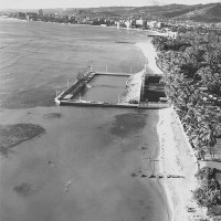 The Natatorium in 1960. Photo by permission of John Titchen.