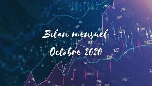 Bilan d'octobre 2020