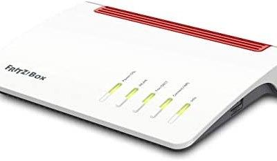 AVM FRITZ!Box 7590 International Modem Router, Wireless Veloce AC+N 2533…