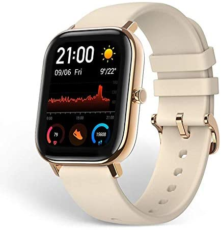 Amazfit GTS Smartwatch, Activity Tracker with GPS… (Gold)