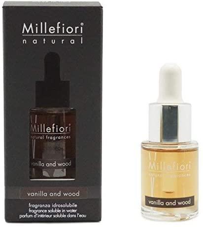 Fragranza idrosolubile Millefiori collezione Natural Vanilla & Wood 15ml ...