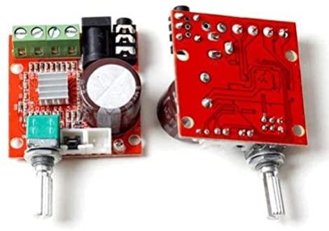 GAOHOU Mini Hi-Fi Audio PAM8610 Modulo Doppia Classe Canale D 2x10W...