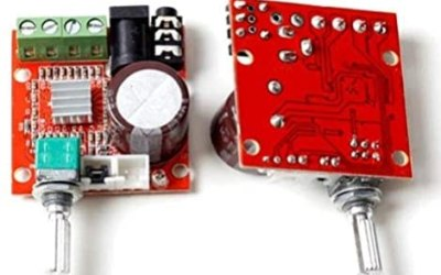 GAOHOU Mini Hi-Fi Audio PAM8610 Modulo Doppia Classe Canale D 2x10W…