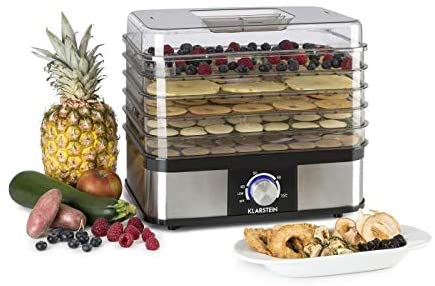 KLARSTEIN Valle Deluxe Health and Tasty - Essiccatore Alimenti,...