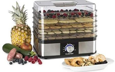 KLARSTEIN Valle Deluxe Health and Tasty – Essiccatore Alimenti,…