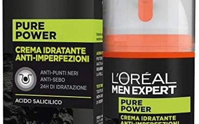 L'ORÉAL Paris Men Expert Crema Viso Uomo Idratante Anti-Imperfezioni Pure…