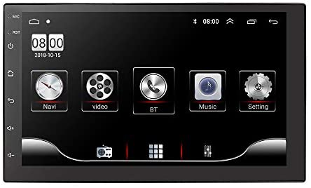 Lettore autoradio universale 1080P Video Stereo Player Android 9.0 OS per...