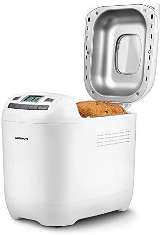 MEDION Macchina per il pane 580-650 Watt, 700-1000 g, 12 programmi di...