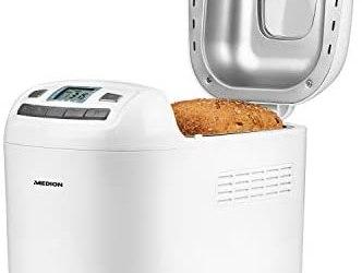 MEDION Macchina per il pane 580-650 Watt, 700-1000 g, 12 programmi di…