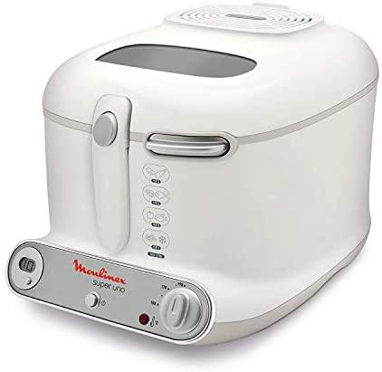 Moulinex AM302130 Super Uno Friggitrice con Filtro Anti-Odore, Fino a 190°,...