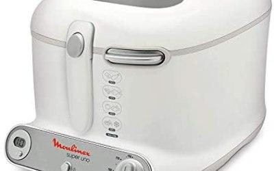 Moulinex AM302130 Super Uno Friggitrice con Filtro Anti-Odore, Fino a 190°,…