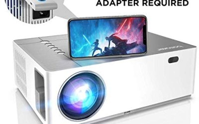 Proiettore BOMAKER 6500 Lumen Nativo Full HD 1080p videoproiettore, ± 50°…