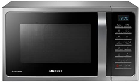 Samsung Forno a Microonde Combinato, 900 W, Grill 1500 W, 28 Litri, Argento