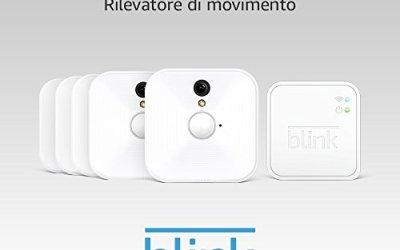 Sistema di videocamere per la sicurezza domestica Blink, per interni, con…