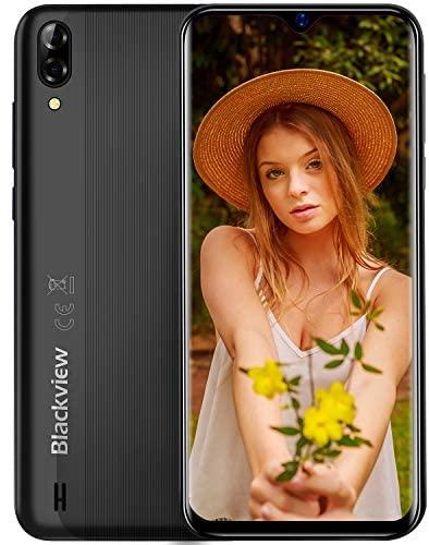 Smartphone Offerta del Giorno, Blackview A60 6.1'' Waterdrop Schermo,...