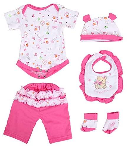 Vestiti per bambole di simulazione per bambini per bambini Set di cinque...