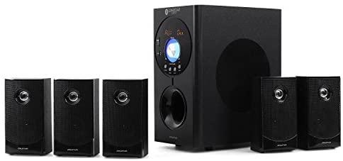 auna Concept 620 - Home Theater, Sistema Audio 5.1, Potenza Max 250W, Radio...