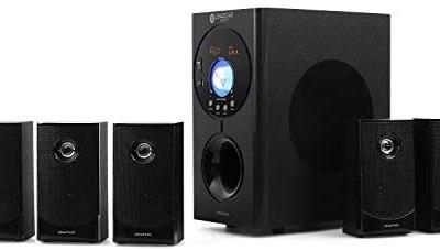 auna Concept 620 – Home Theater, Sistema Audio 5.1, Potenza Max 250W, Radio…