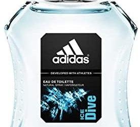 Adidas Ice Dive Eau de Toilette, Profumo Uomo Spray, 100 ml