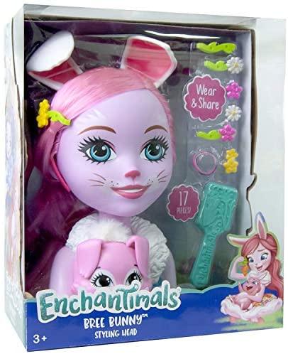 Enchantimals - Testa da truccare Bunny Bee