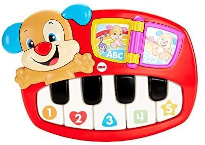 Fisher Price- Pianoforte del Cagnolino, Giocattolo Musicale, Adatto per...