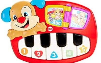 Fisher Price- Pianoforte del Cagnolino, Giocattolo Musicale, Adatto per…
