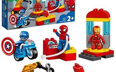 LEGO DUPLO Super Heroes Il Laboratorio dei Supereroi, Set di Costruzioni…