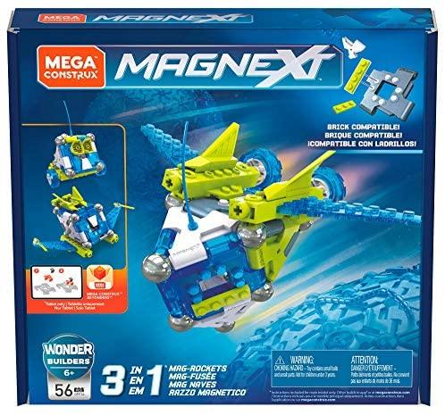 MEGA Construx Magnext, Costruzione Magnetica con 56 Pezzi, Giocattolo per...