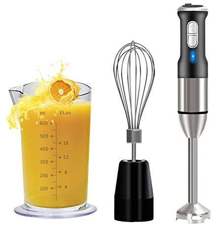 POWERGIANT Frullatore a Immersione, Mixer a Immersione Professionale 3 in...