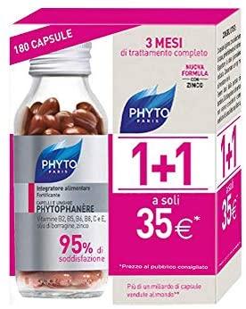 Phyto Phytophanere Integratore Alimentare Naturale Fortificante per Capelli...