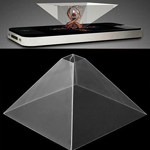 Rosepoem Video Del Proiettore A Piramide Con Display Olografico 3D Per...