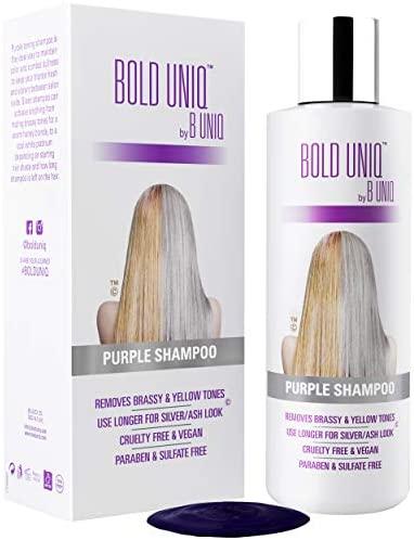 Shampoo Antigiallo Per Capelli Biond - Tonalizzante Capelli - Silver...