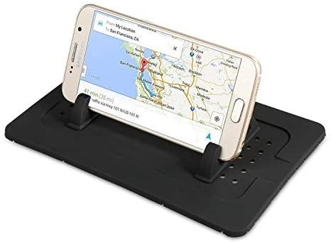 Supporto da auto per telefono cellulare in silicone, tappetino per...