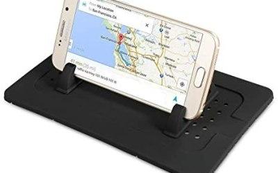 Supporto da auto per telefono cellulare in silicone, tappetino per…